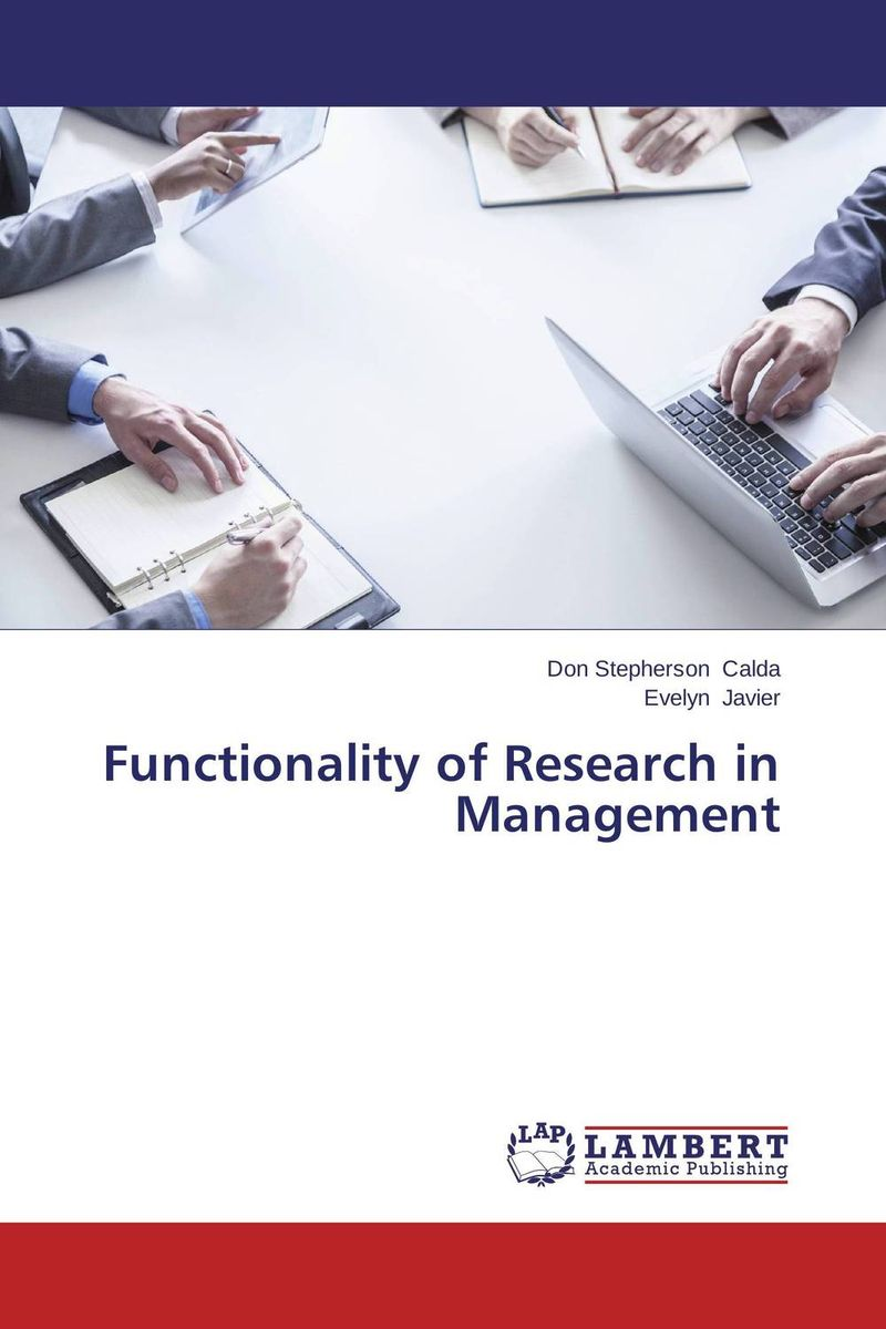 Functionality of Research in Management glaser s31457 00 glaser