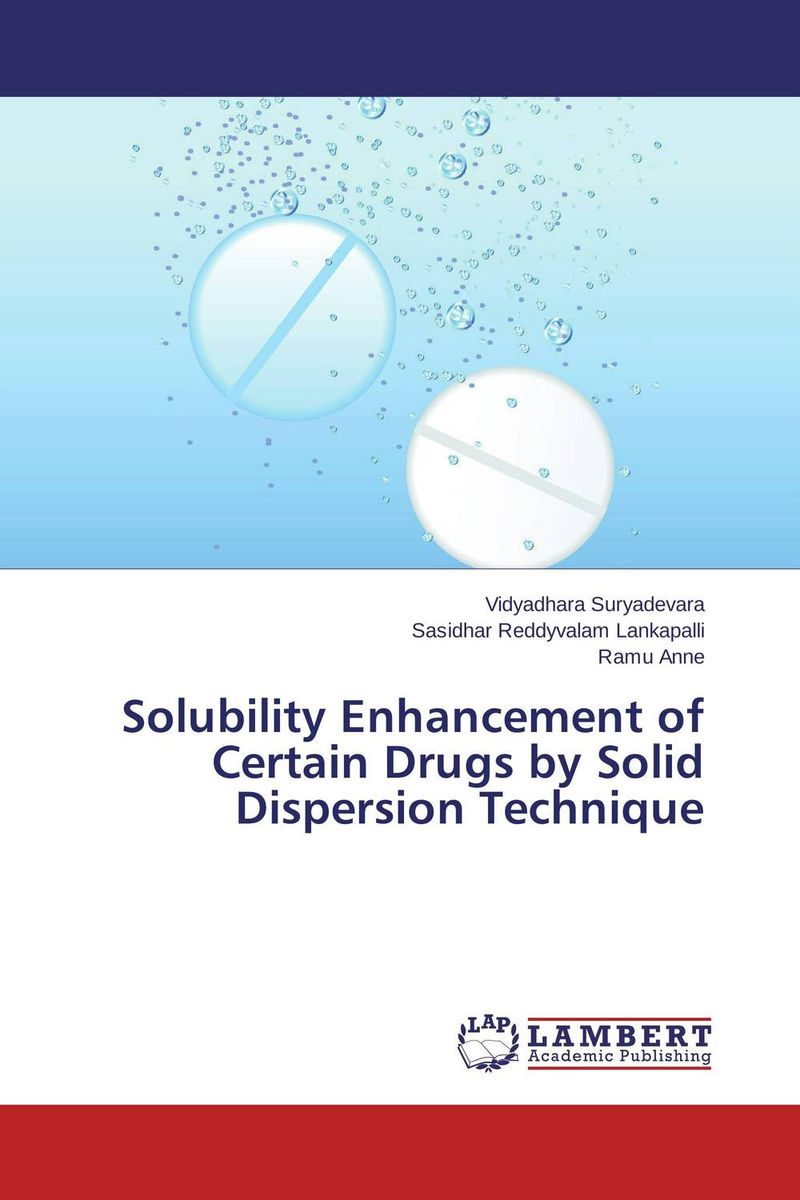 Solubility Enhancement of Certain Drugs by Solid Dispersion Technique