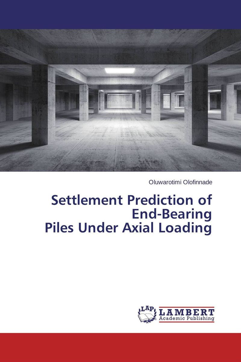 Settlement Prediction of End-Bearing Piles Under Axial Loading вытяжка kronasteel irida 900 white push button