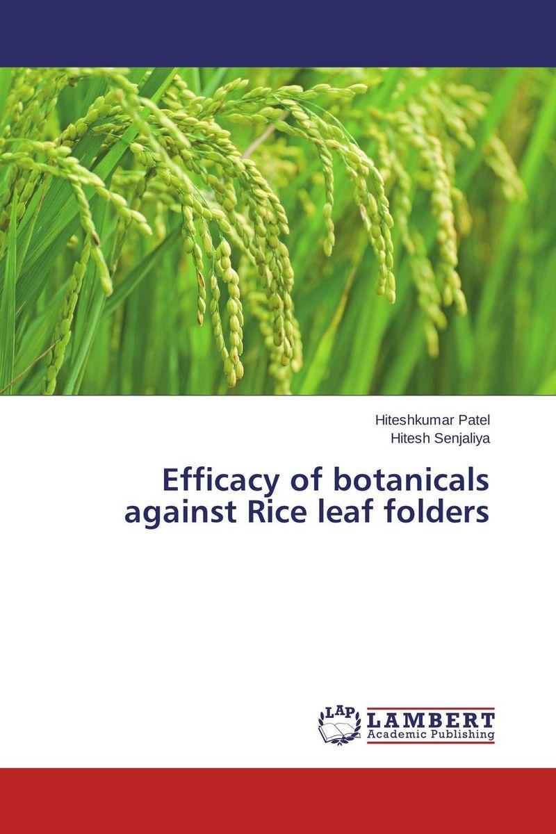 Efficacy of botanicals against Rice leaf folders