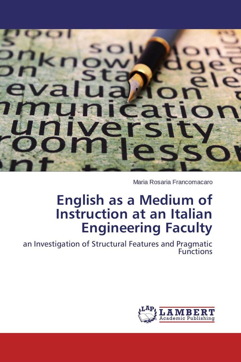 English as a Medium of Instruction at an Italian Engineering Faculty barbara seidlhofer understanding english as a lingua franca