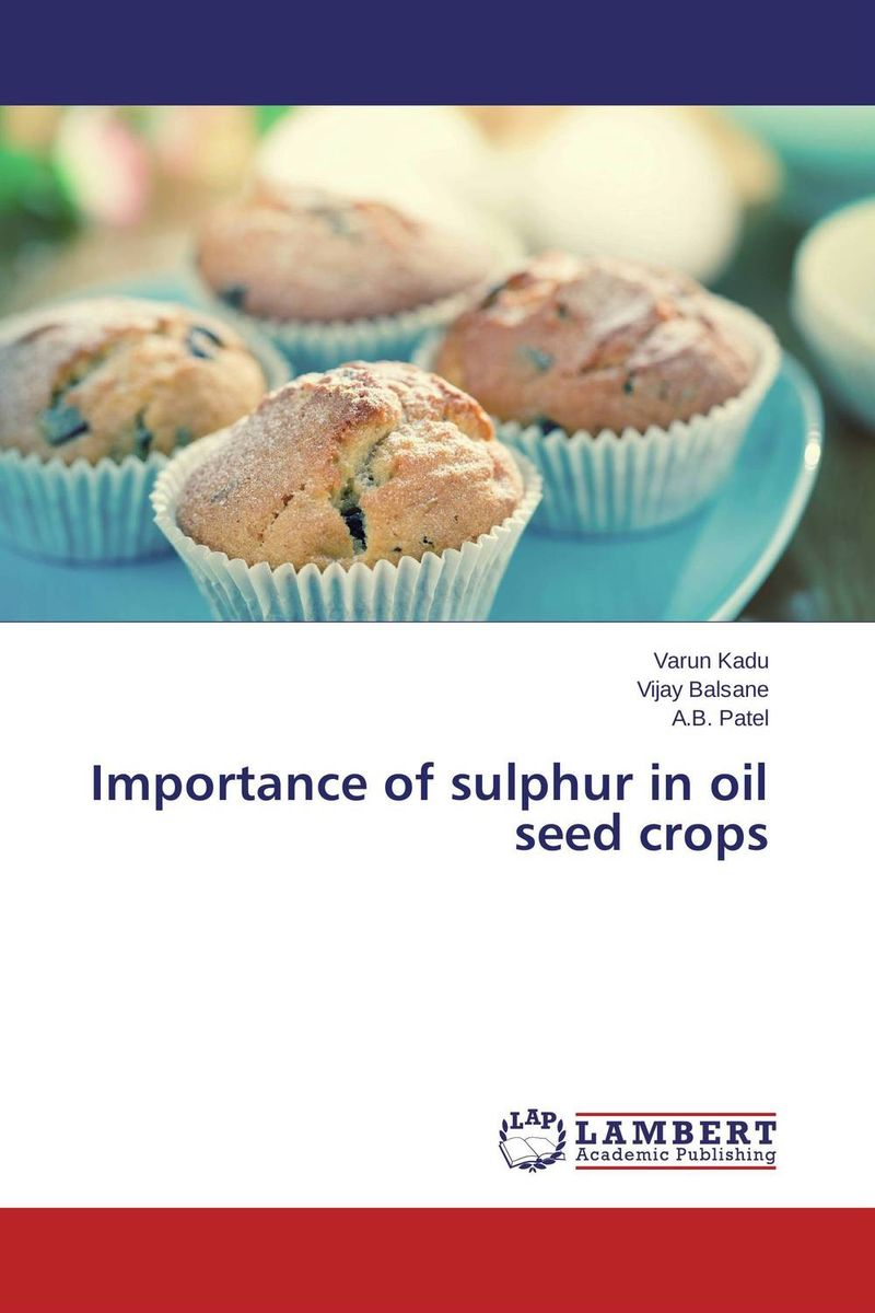 Importance of sulphur in oil seed crops nify benny and c h sujatha enrichment of sulphur compounds in the cochin estuarine system