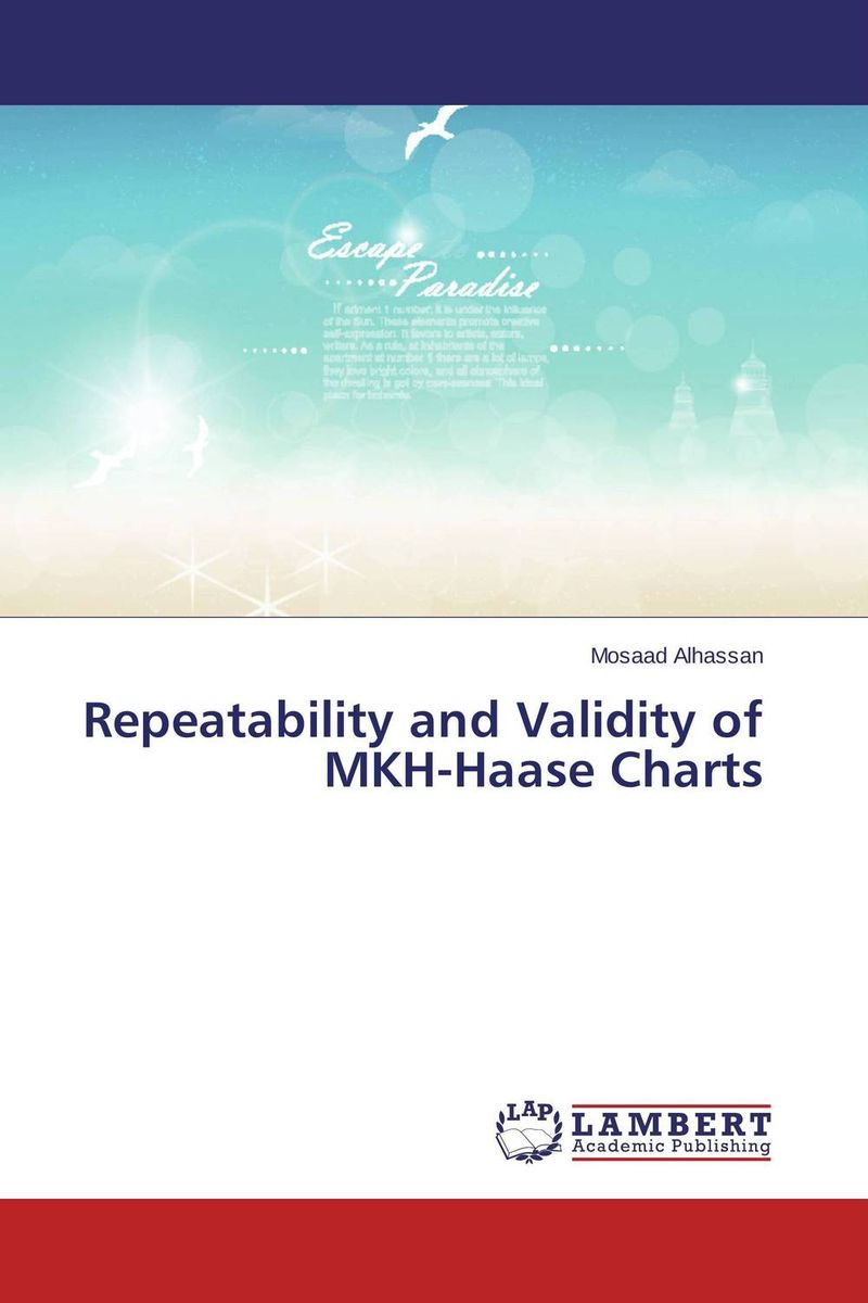 Repeatability and Validity of MKH-Haase Charts купить