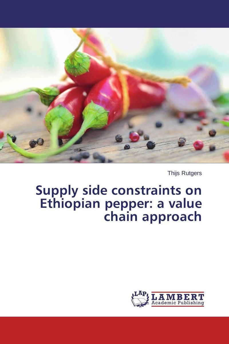 Supply side constraints on Ethiopian pepper: a value chain approach adding value to the citrus pulp by enzyme biotechnology production