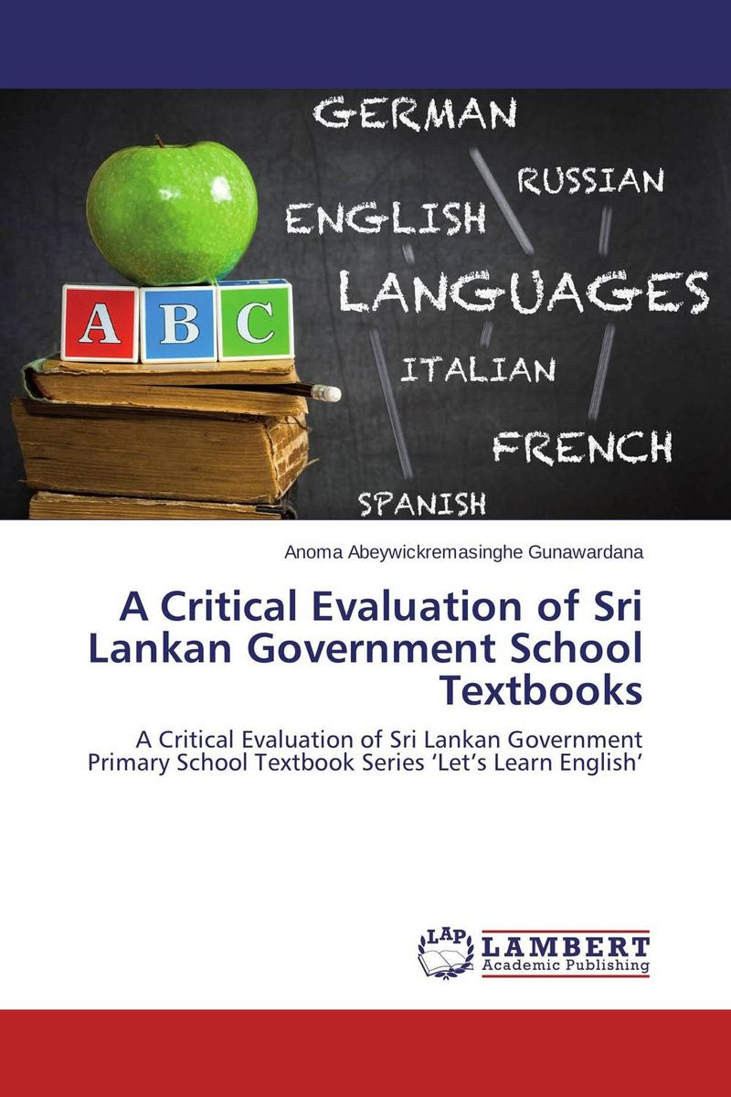 A Critical Evaluation of Sri Lankan Government School Textbooks an evaluation of vocabulary in kenyan english textbooks