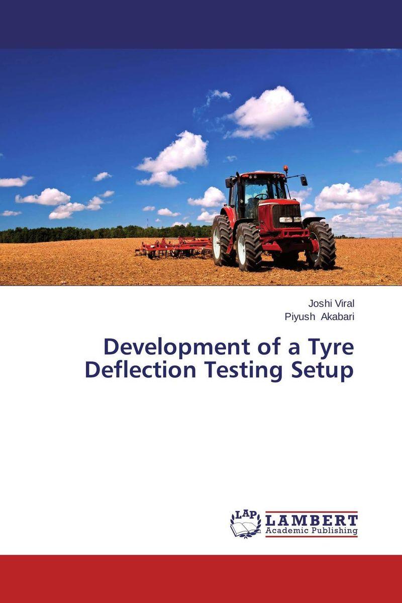 Development of a Tyre Deflection Testing Setup