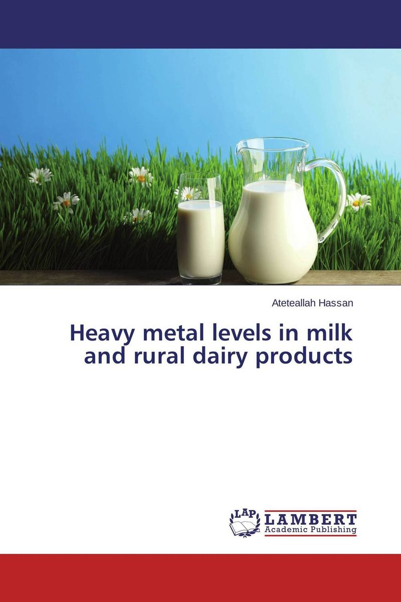 Heavy metal levels in milk and rural dairy products heavy metals in drinking water of dairy buffaloes at peshawar