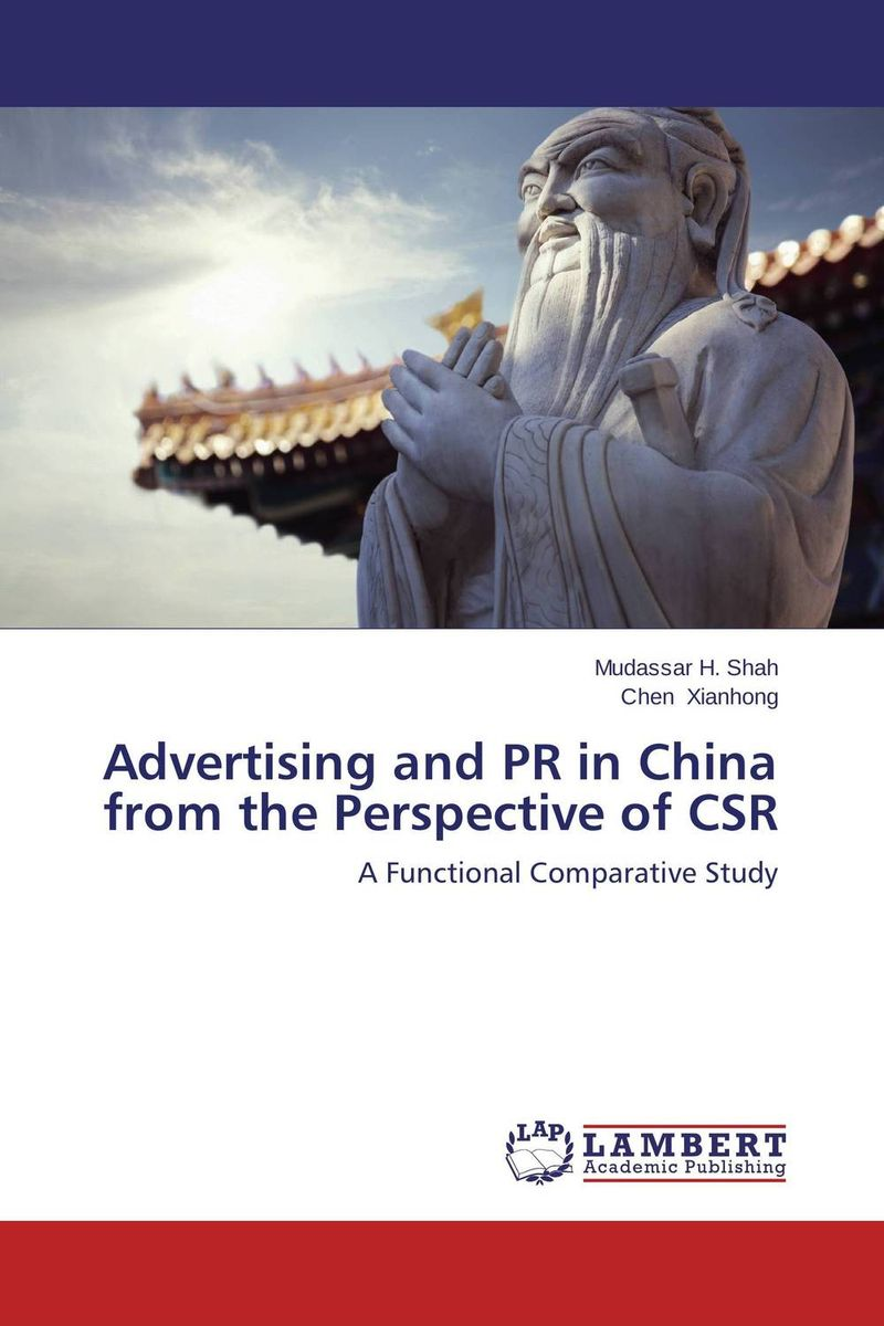 Advertising and PR in China from the Perspective of CSR corporate governance and firm value