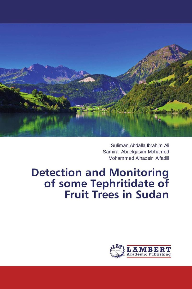 Detection and Monitoring of some Tephritidate of Fruit Trees in Sudan coloring of trees