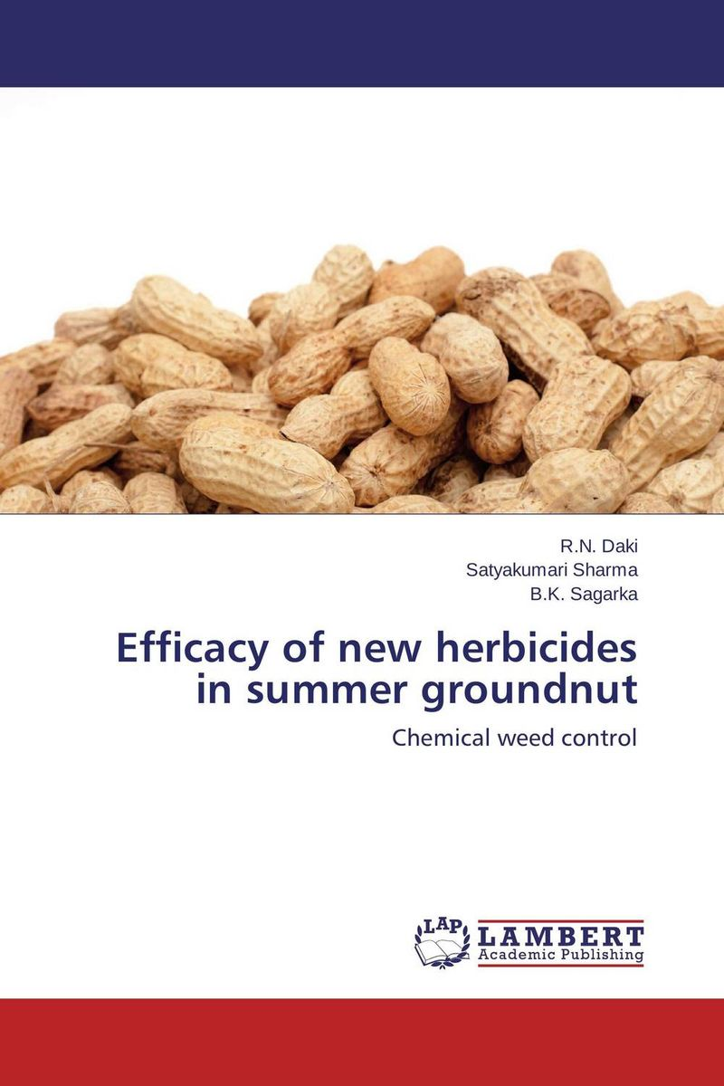 Efficacy of new herbicides in summer groundnut h n gour pankaj sharma and rakesh kaushal pathological aspects and management of root rot of groundnut