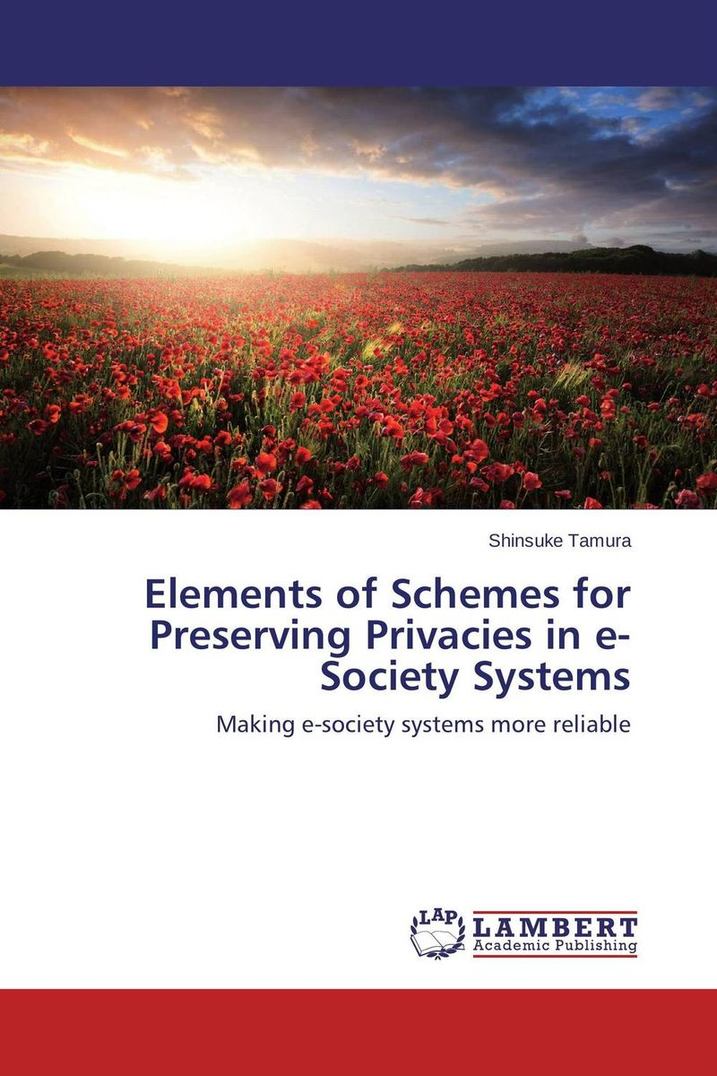 Elements of Schemes for Preserving Privacies in e-Society Systems clustering information entities based on statistical methods