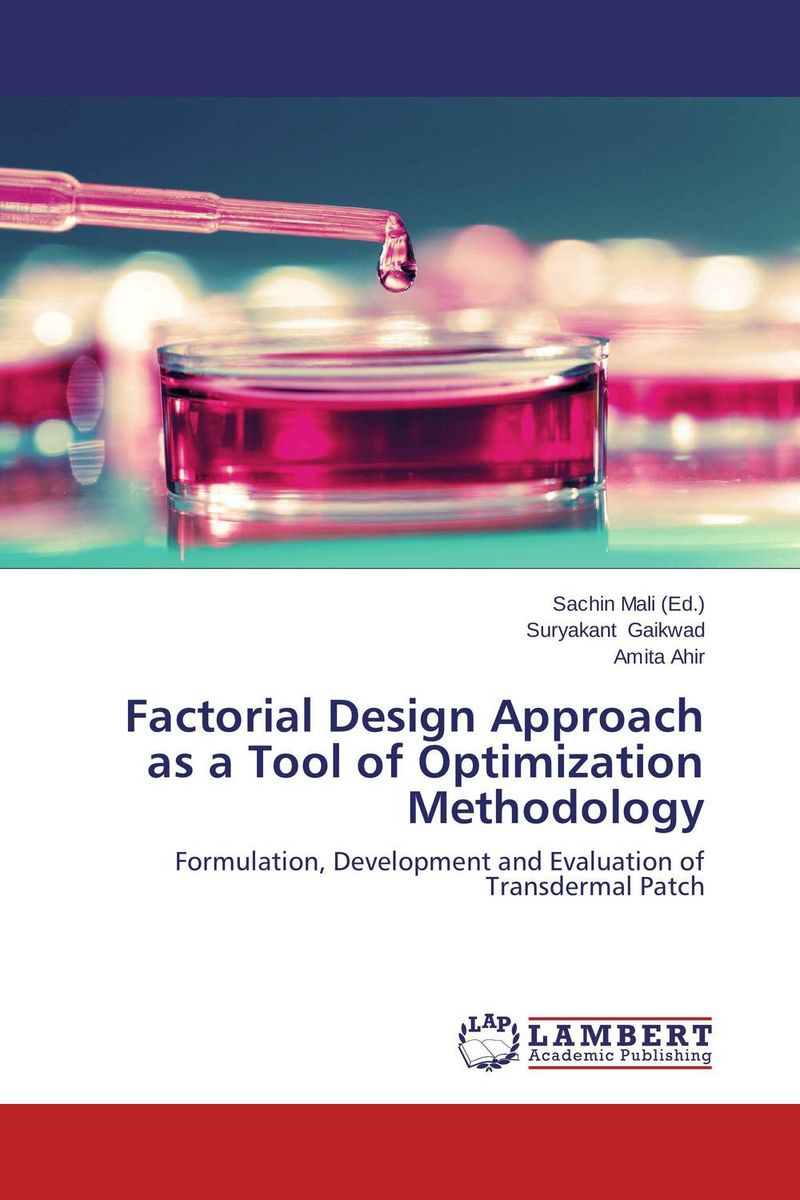 Factorial Design Approach as a Tool of Optimization Methodology drug discovery and design