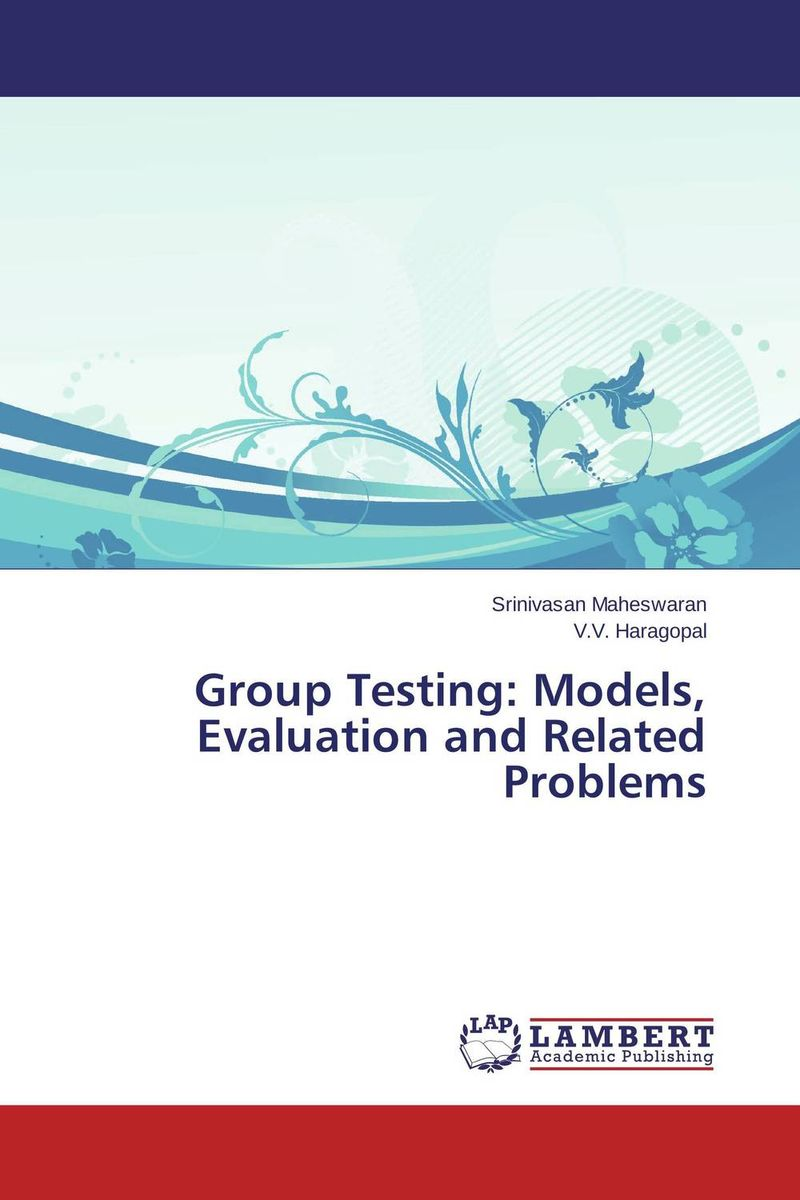 Group Testing: Models, Evaluation and Related Problems the limiting background in a detector testing facility for supercdms