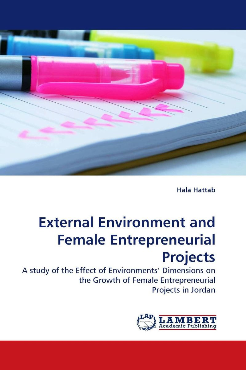 External Environment and Female Entrepreneurial Projects recognizing the role men play in the entrepreneurial success of women