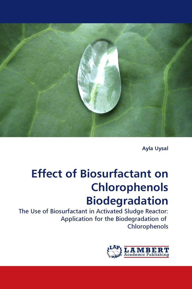 Effect of Biosurfactant on Chlorophenols Biodegradation biosurfactant producing bacteria