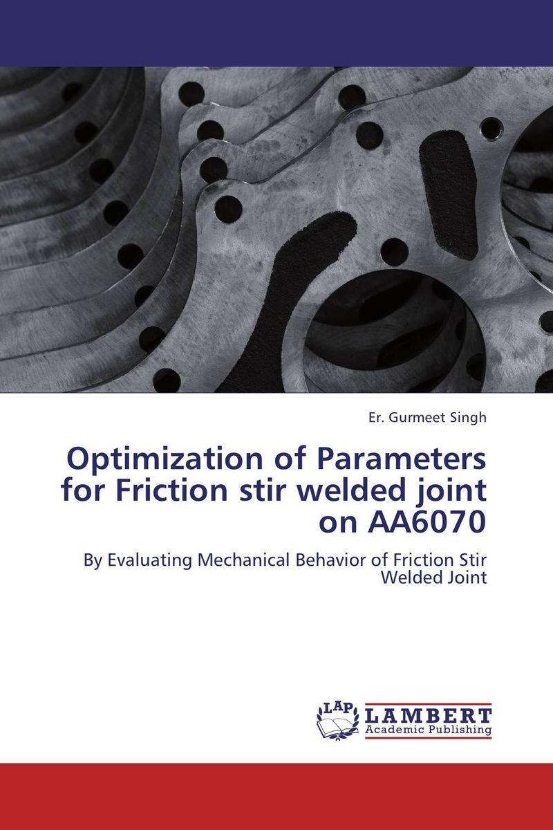 Optimization of Parameters for Friction stir welded joint on AA6070 welding helmet welder cap for welding equipment chrome for free post