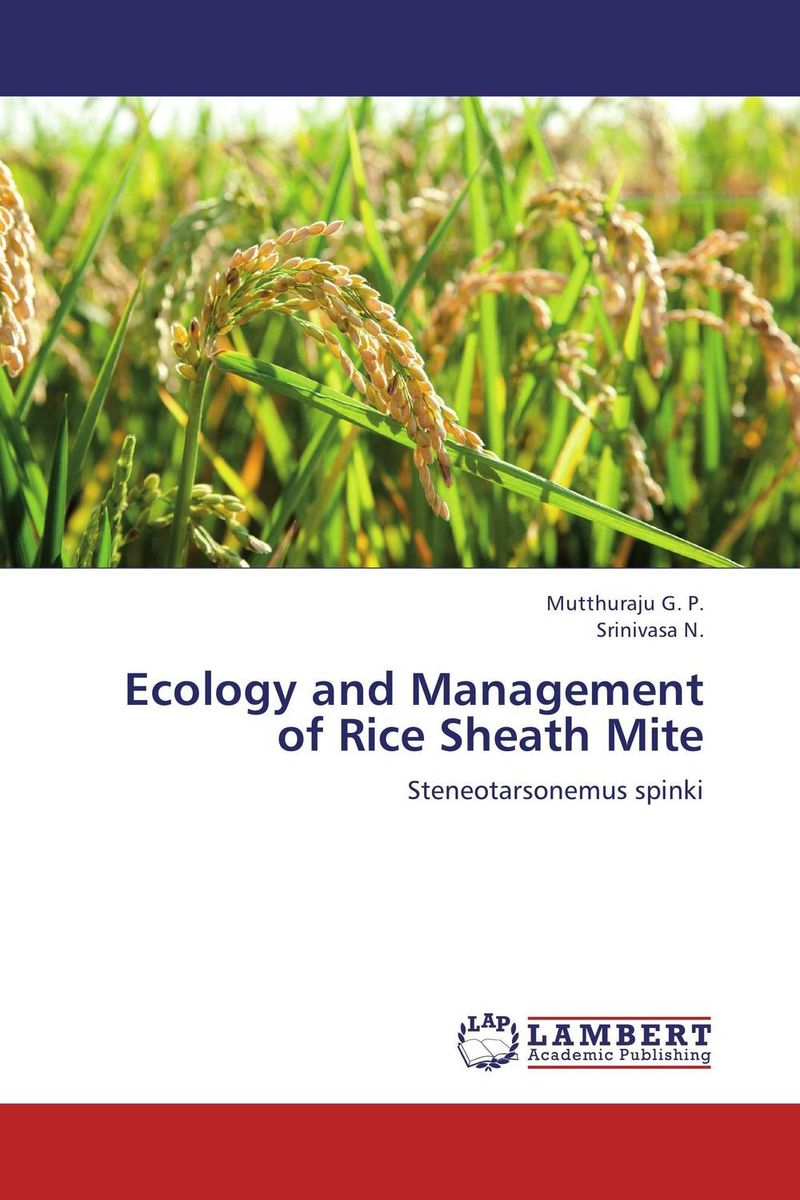 Ecology and Management of Rice Sheath Mite natural enemy fauna in rice wheat system of india