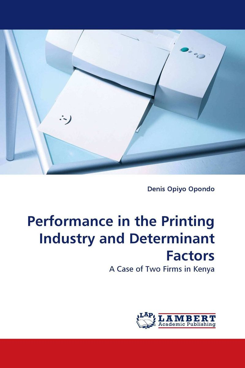 Performance in the Printing Industry and Determinant Factors women entrepreneurship in kenya s firms a demographic perspective