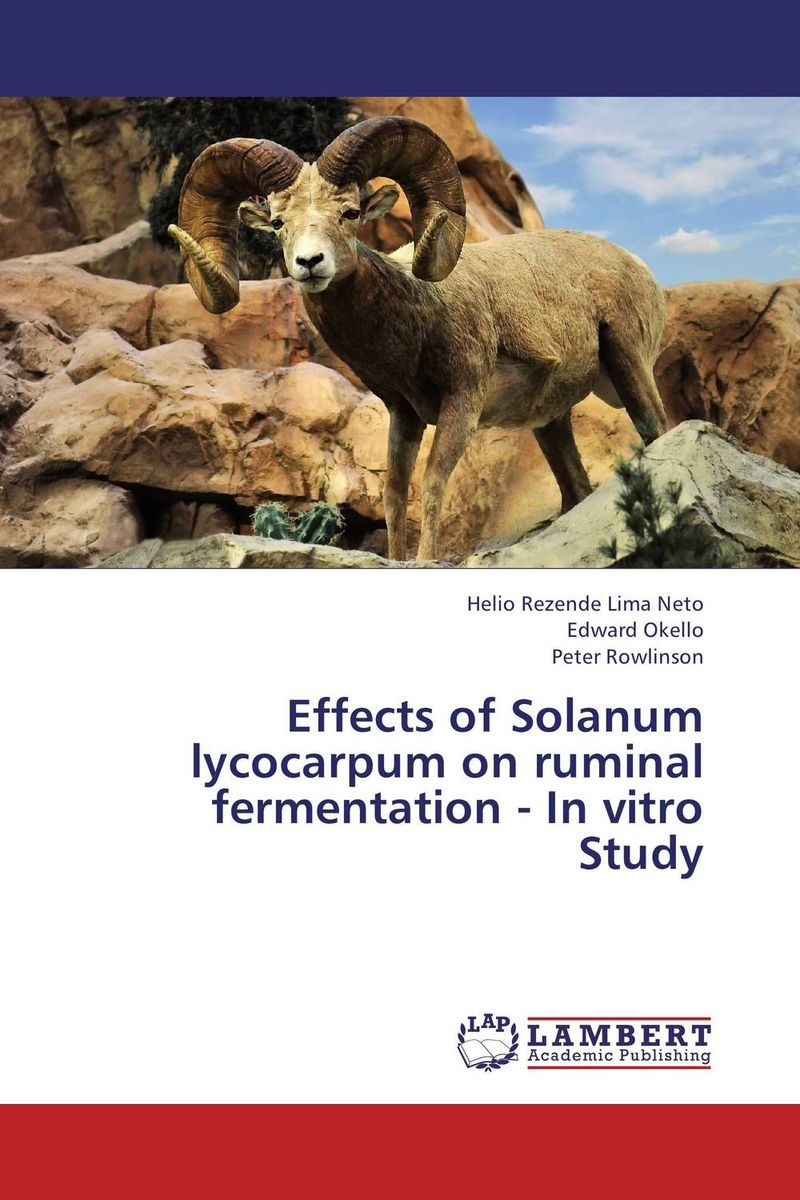 Effects of Solanum lycocarpum on ruminal fermentation - In vitro Study fermentation technology
