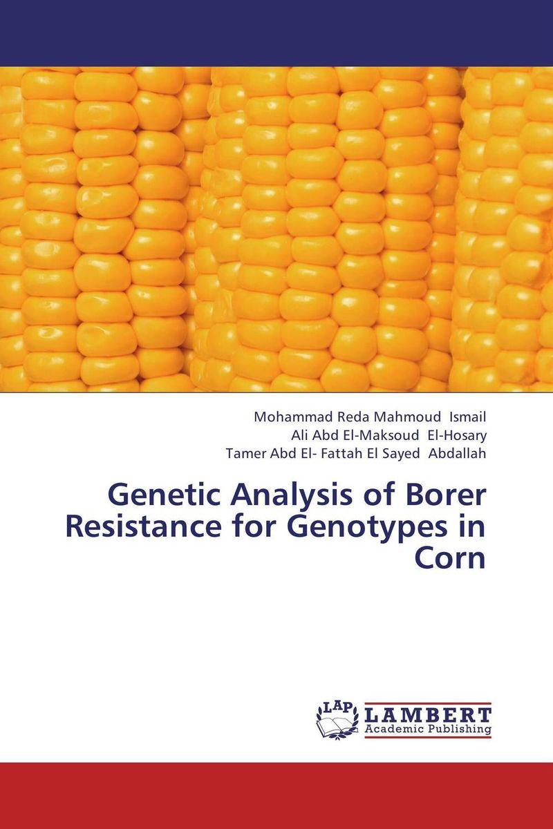 Genetic Analysis of Borer Resistance for Genotypes in Corn книги издательство аст большая книга по развитию речи