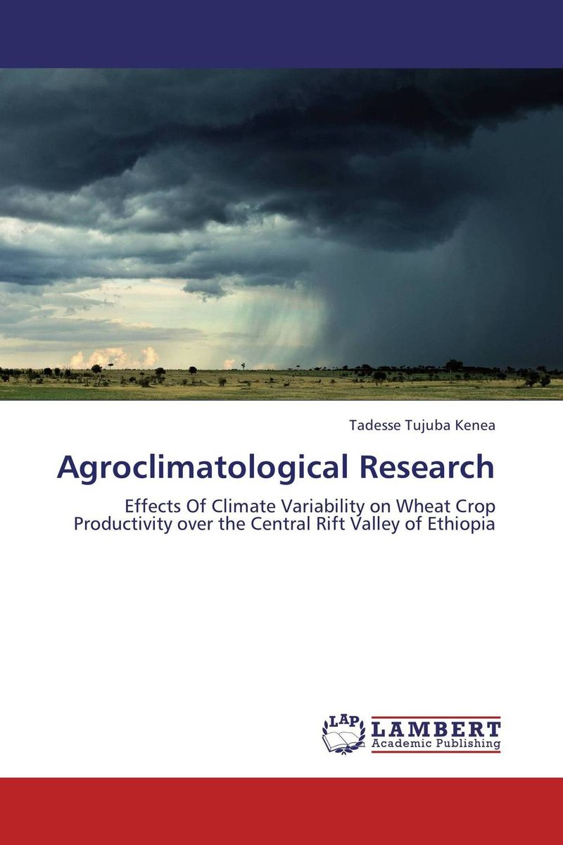 Agroclimatological Research suh jude abenwi the economic impact of climate variability