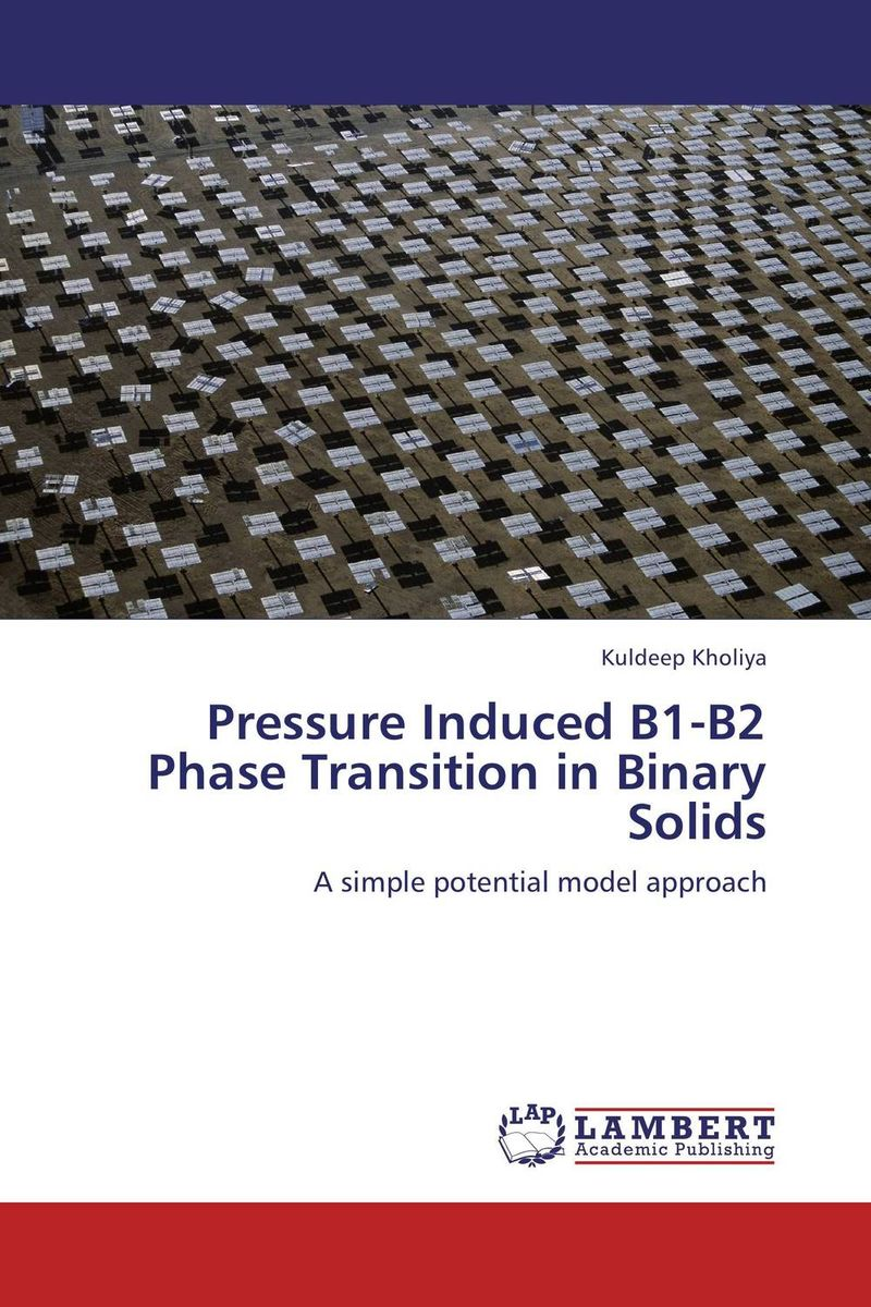 Pressure Induced B1-B2 Phase Transition in Binary Solids induced transformation in amorphous chalcogenides