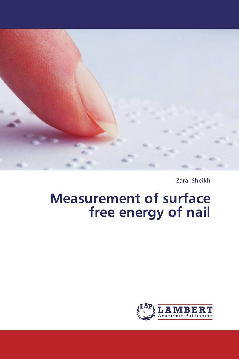 Measurement of surface free energy of nail dunkerley energy strategies for developing nations