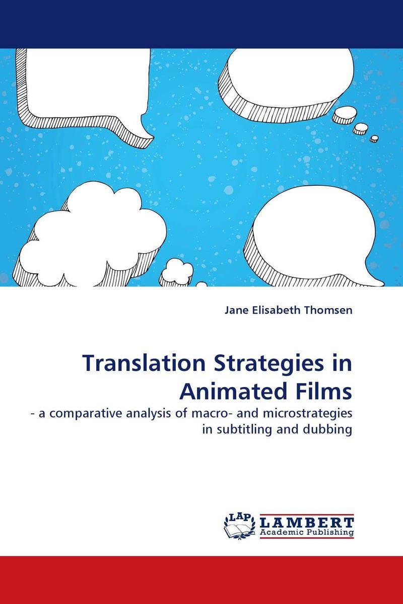 Translation Strategies in Animated Films