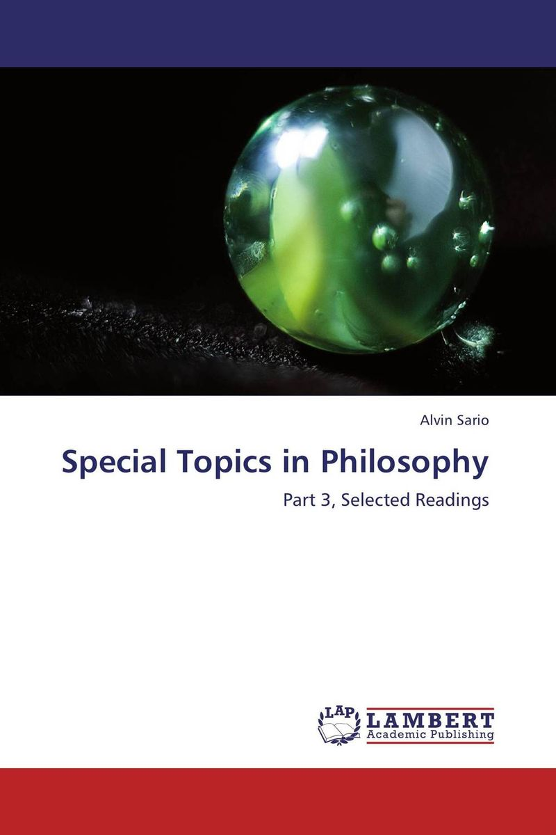 Special Topics in Philosophy personification and the feminine in roman philosophy