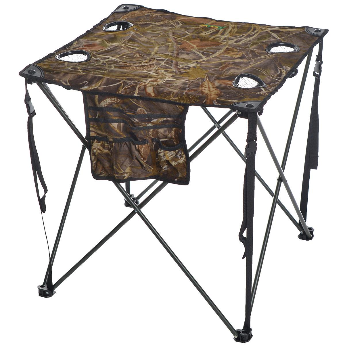 Стол складной Canadian Camper CC-TA431, 68 см х 68 см х 68 см нож canadian camper цвет красный стальной 21 см cc n300 203