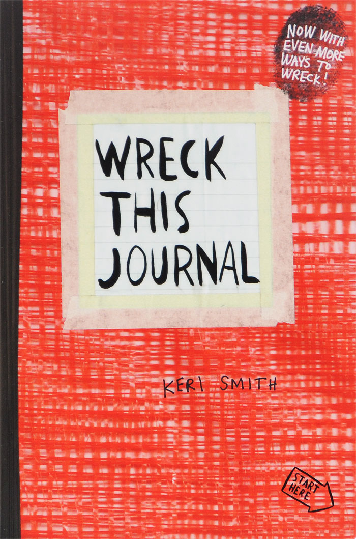 Wreck This Journal sense and sensibility