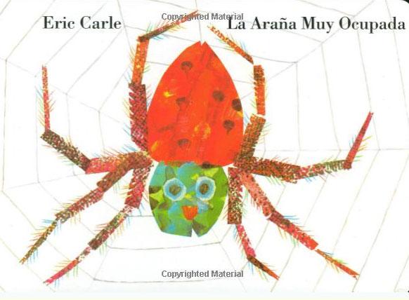 La Arana Muy Ocupada my own very busy spider coloring book