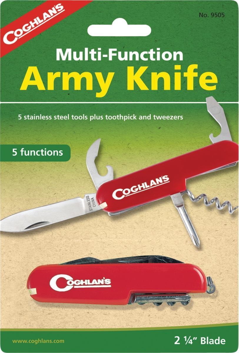 Многофункциональный туристический нож COGHLANS (5 функций)9505