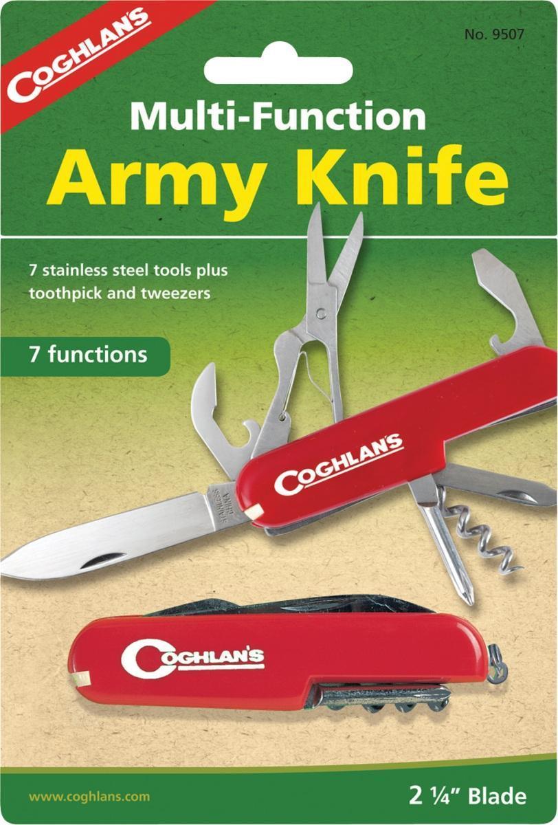 Многофункциональный туристический нож COGHLANS (7 функций)9507