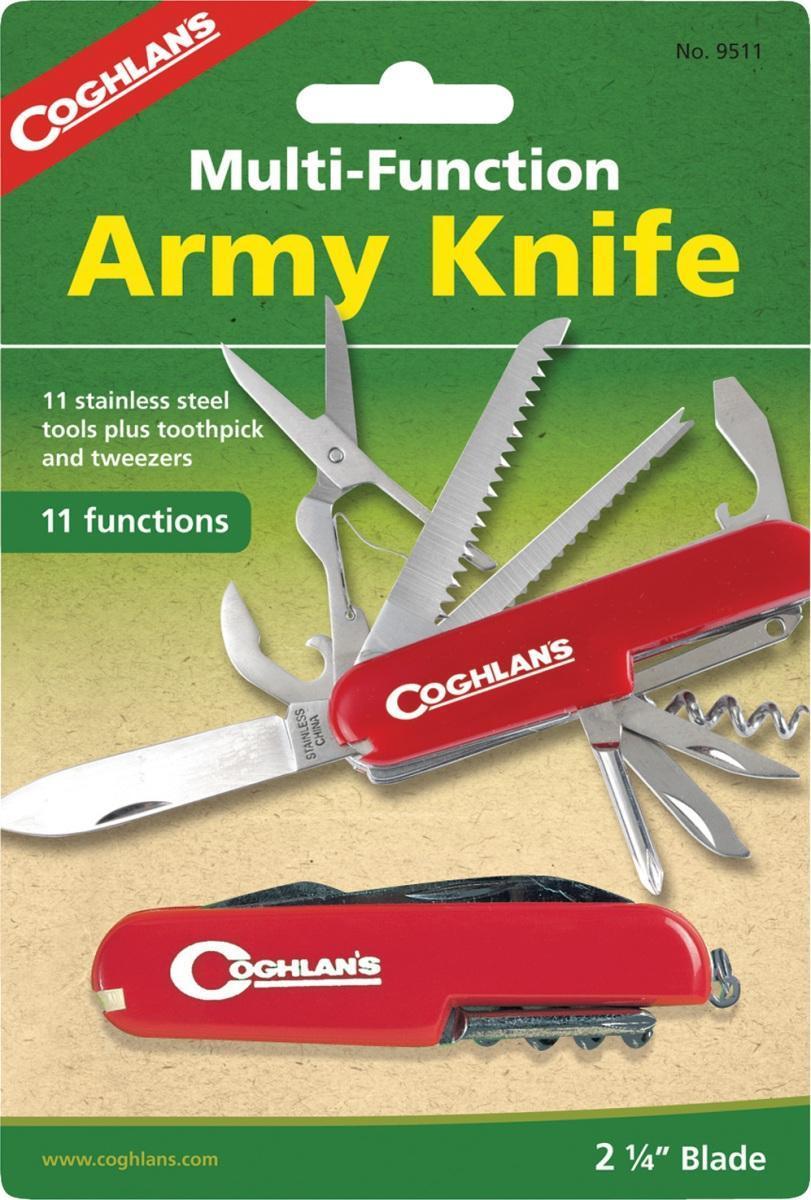 Многофункциональный туристический нож COGHLAN'S (11 функций)
