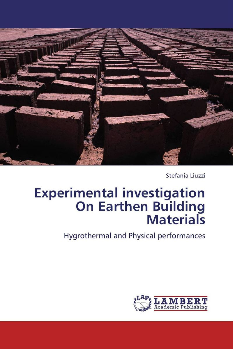Experimental investigation On Earthen Building Materials rohit r limbachiya vaibhav j limbachiya and yashesh a darji experimental investigation of twin screw extruder machine