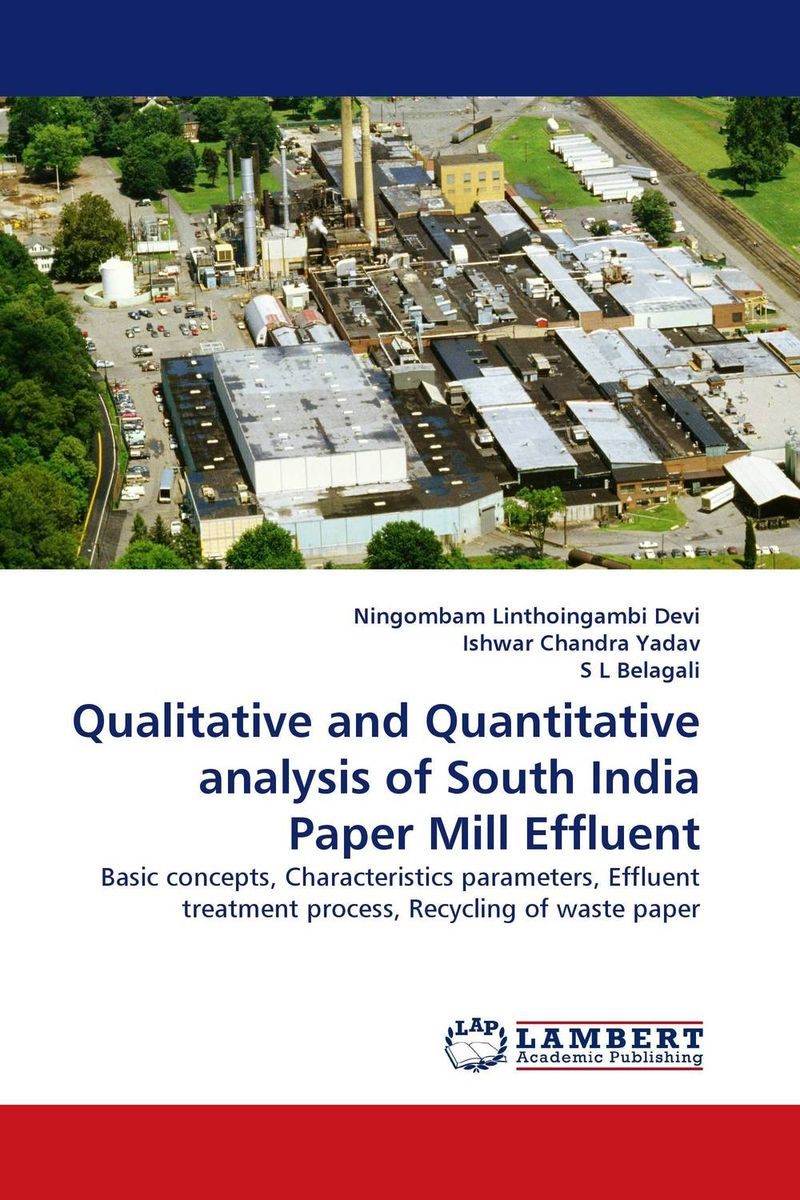 Qualitative and Quantitative analysis of South India Paper Mill Effluent ce emc lvd fcc ozonizer for industrial water treatment