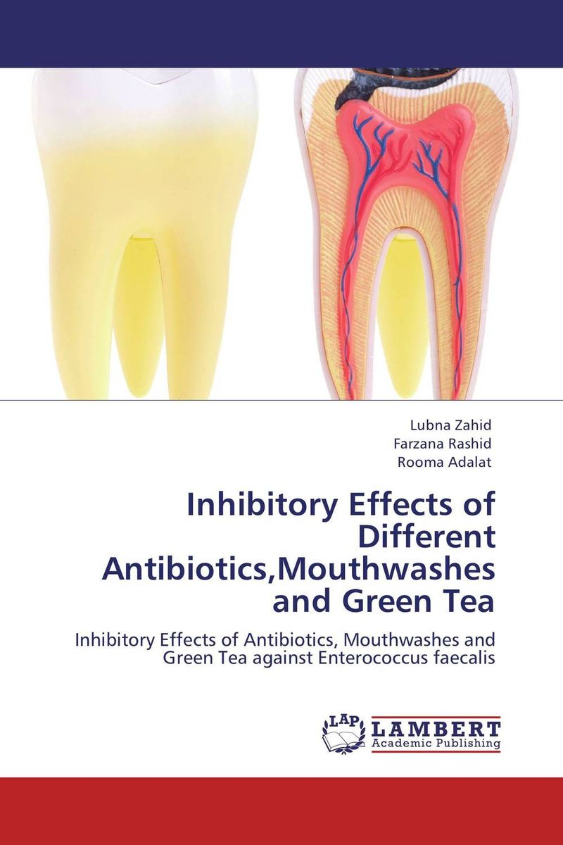 Inhibitory Effects of Different Antibiotics,Mouthwashes and Green Tea the teeth with root canal students to practice root canal preparation and filling actually