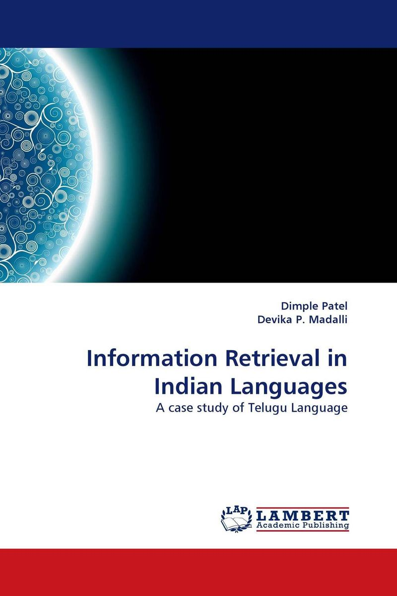 Information Retrieval in Indian Languages designing of an information retrieval system in veterinary science