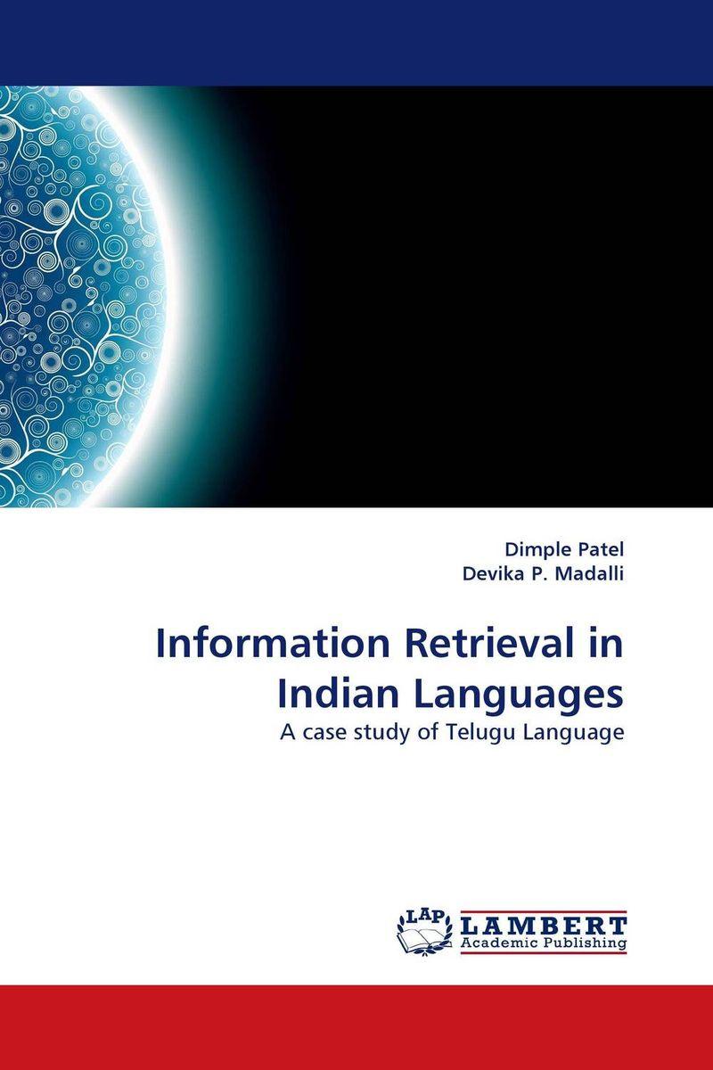 Information Retrieval in Indian Languages processor description languages 1