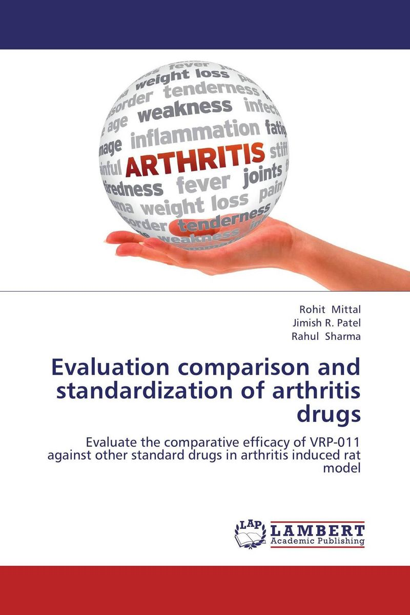 Evaluation comparison and standardization of arthritis drugs evaluation of the internal control practices