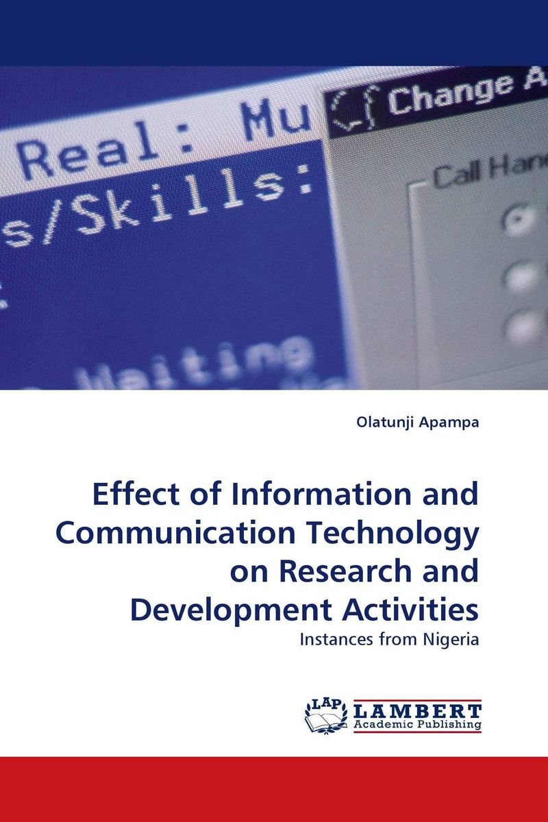 Effect of Information and Communication Technology on Research and Development Activities effect of information and communication technology on research and development activities