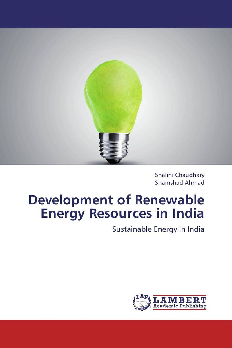 Development of  Renewable  Energy Resources in India недорго, оригинальная цена