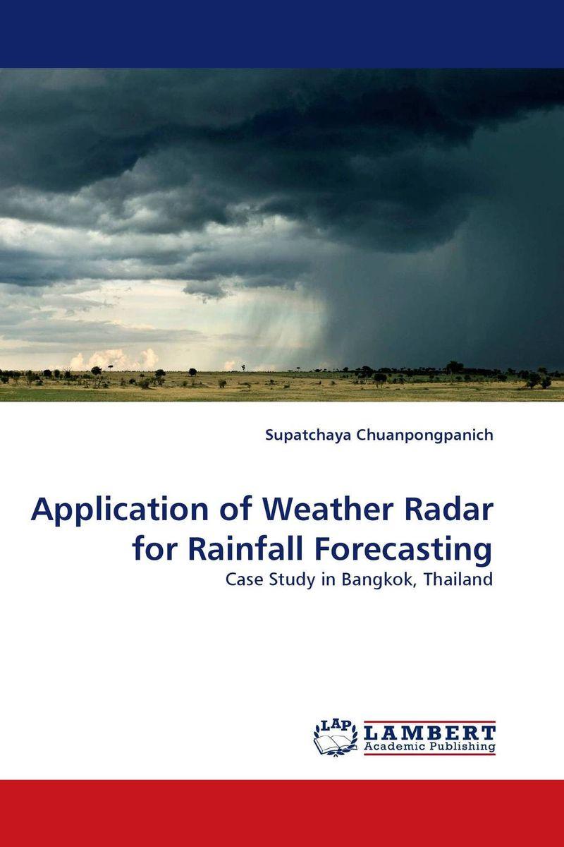 Application of Weather Radar for Rainfall Forecasting