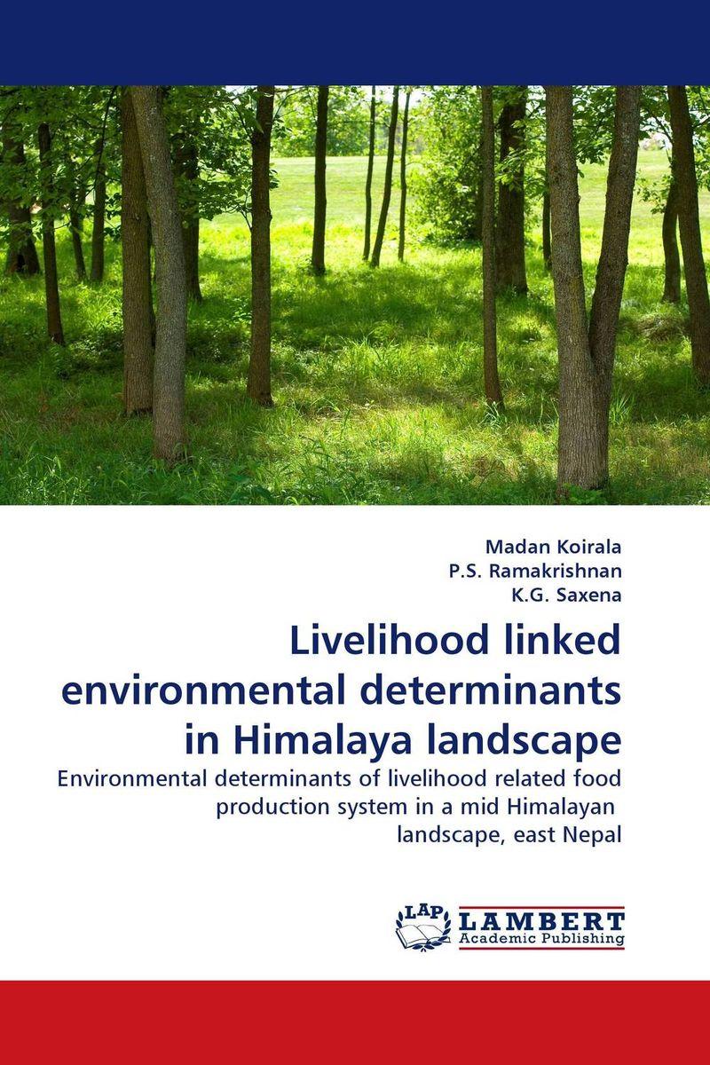 Livelihood linked environmental determinants in Himalaya landscape linking landscape and species