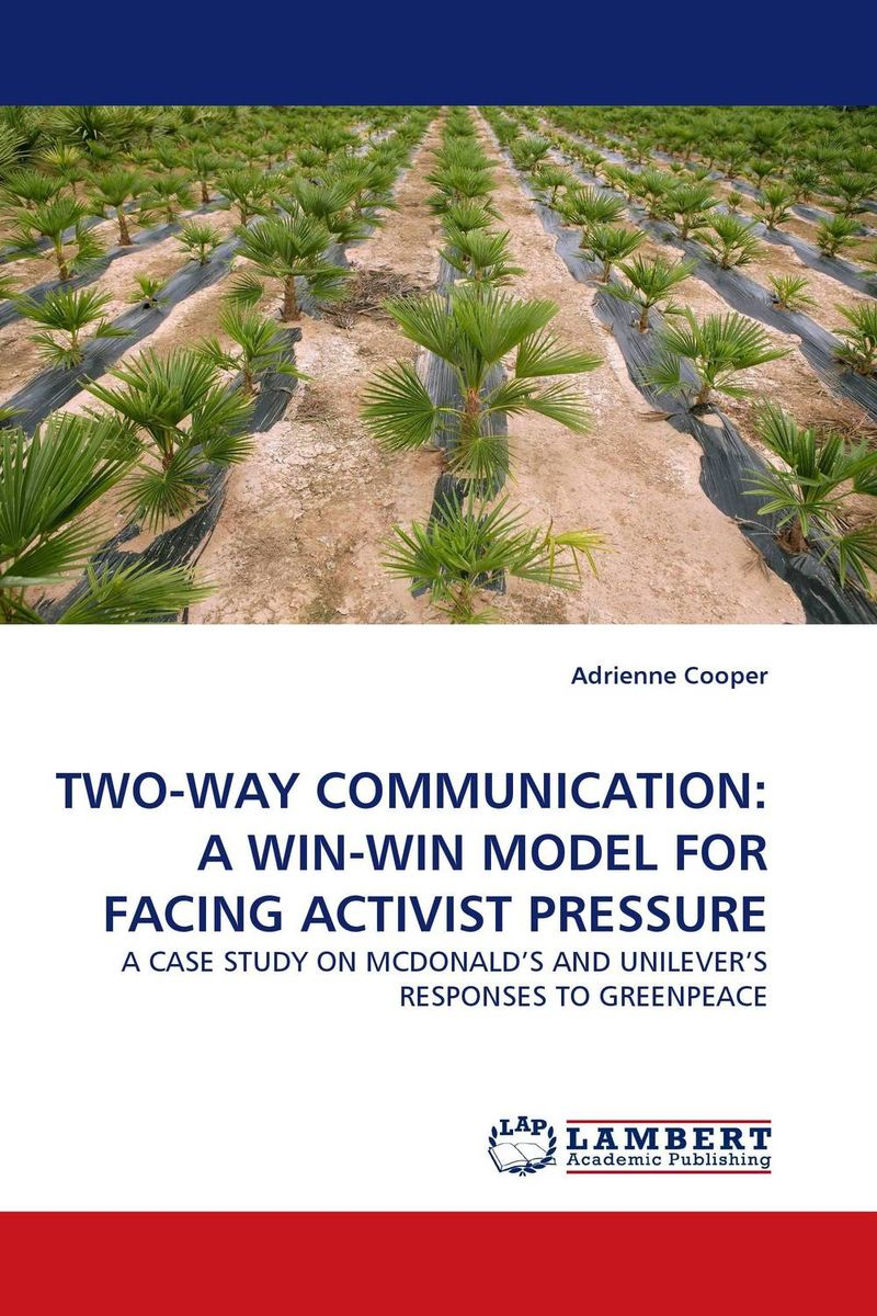 TWO-WAY COMMUNICATION: A WIN-WIN MODEL FOR FACING ACTIVIST PRESSURE корпус для пк in win s frame