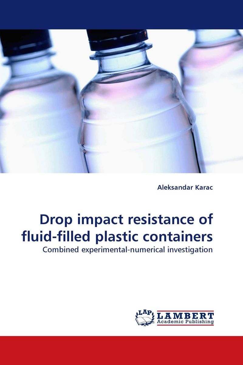 Drop impact resistance of fluid-filled plastic containers футболка классическая printio be fluid while they are solid