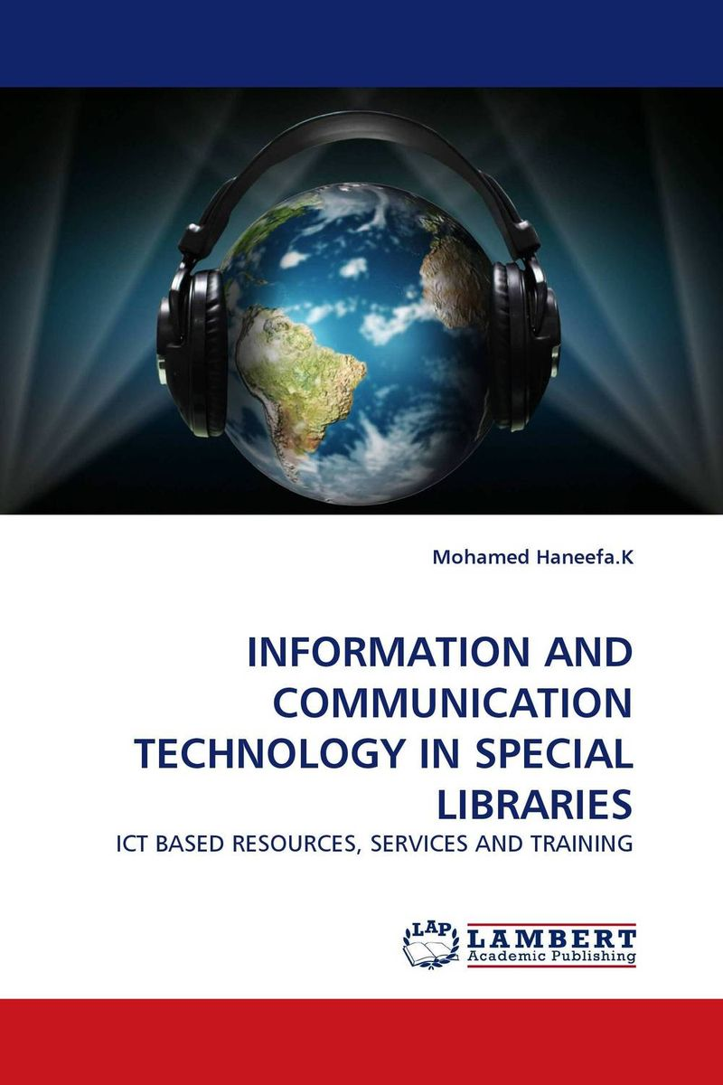 INFORMATION AND COMMUNICATION TECHNOLOGY IN SPECIAL LIBRARIES correspondence between the attributes of heterogeneous datasets