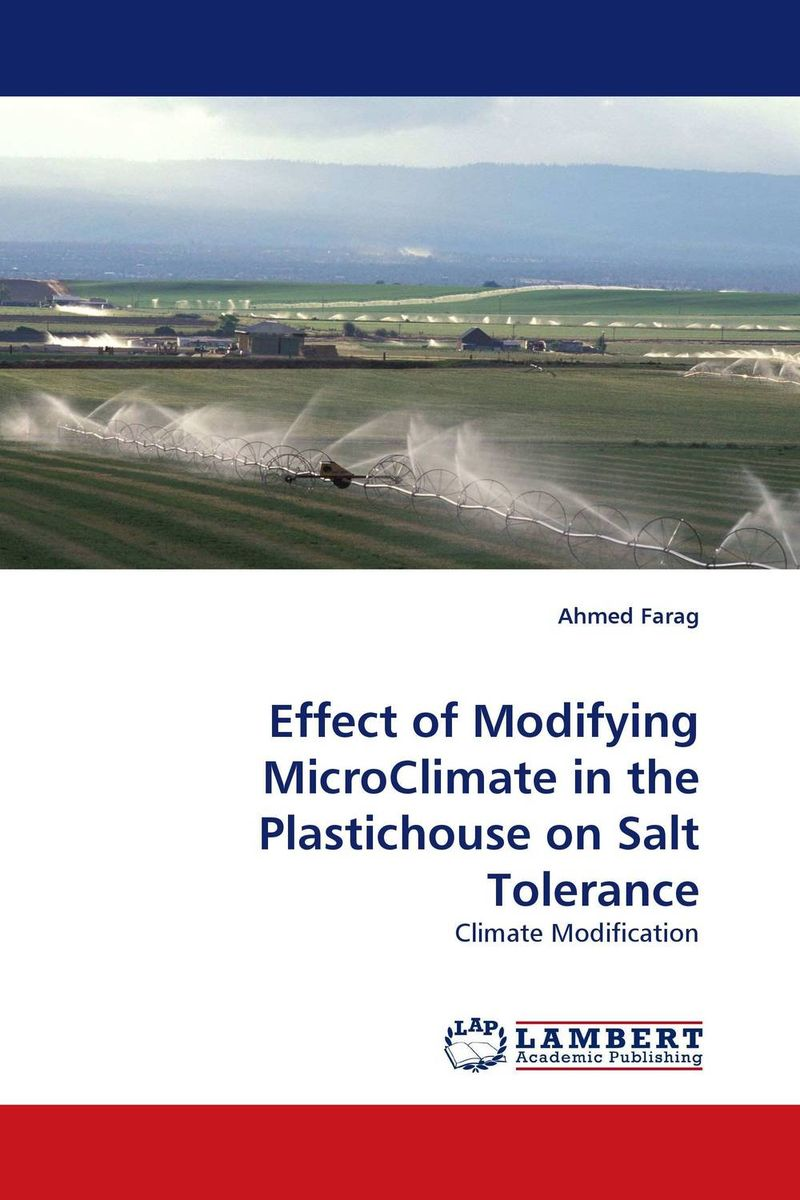 Effect of Modifying MicroClimate in the Plastichouse on Salt Tolerance