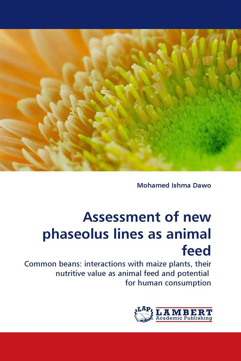 Assessment of new phaseolus lines as animal feed